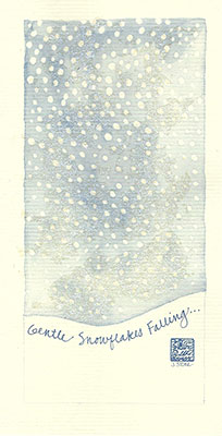 09se-Box - Gentle Snow- Box of 8 or 10