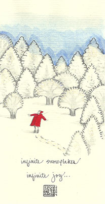 15se-Box - Snow Forest Child - Box of 8 or 10