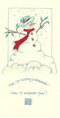 19se-Box - Snow Person - Box of 8 or 10