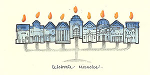 48se-Box - Hanukkah - Box of 8 or 10